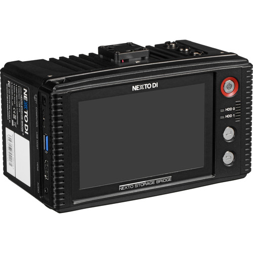 NEXTO DI Storage Bridge NSB-25 Modular Memory Card Backup System with 2 x Bridge Pellets & CompactFlash & SD Memory Card Slots