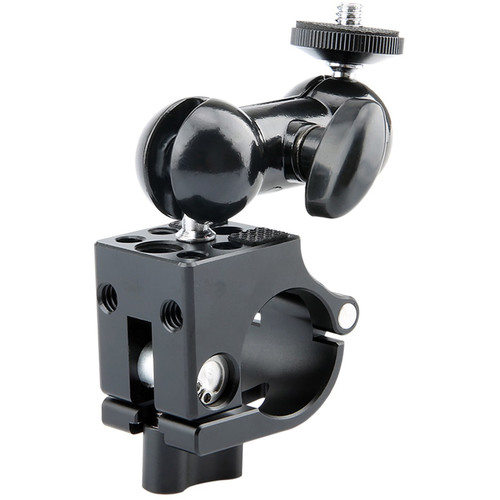 Niceyrig 25mm Rod Clamp with Multi-Functional Double Ballhead for DJI Ronin-M Ronin-MX Gimbal Stabilizer