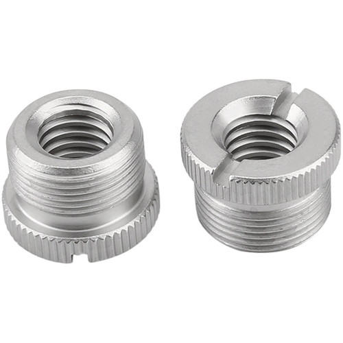 """Niceyrig 5/8"""" Male to 3/8"""" Female Microphone Screw Thread Adapter (Pack of 2)"""