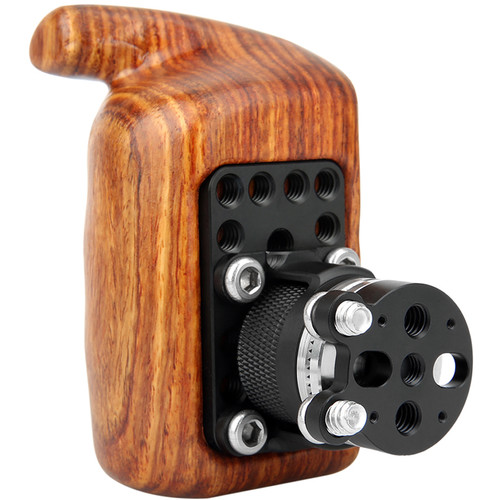 Niceyrig Wooden Handle Grip Kit with Arri Style Rosette Mount Adapter (Right Side)