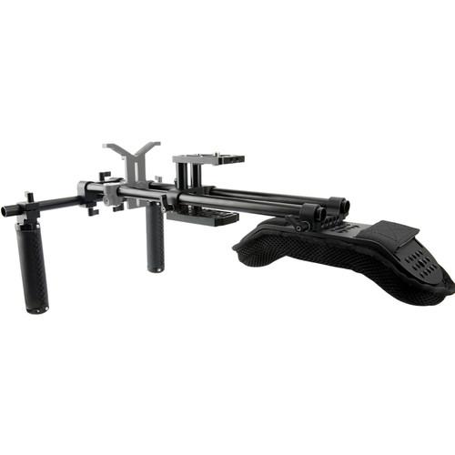 Niceyrig Shoulder Rig Support Film Maker System with Camera/Camcorder Baseplate Mount Slider Kit