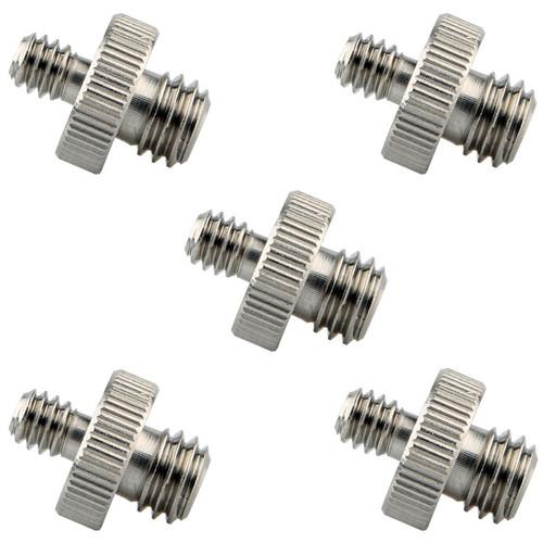 """Niceyrig 1/4""""-20 to 3/8""""-16 Tripod Screws (Pack of 5)"""
