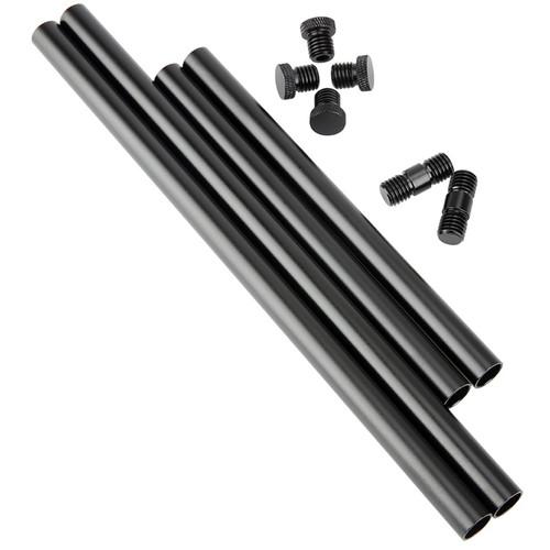Niceyrig 15mm Rod with M12 Thread Rod Cap/Rod Connector