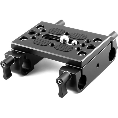 Niceyrig Mounting Plate with Dual 15mm LWS Rod Clamps