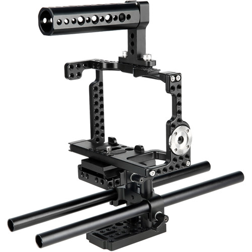 Niceyrig QR Camera Cage Kit for Sony A7R3/A7M3/A9/A7R2/A7S2/A7M2/A7/A7R/A7S Series