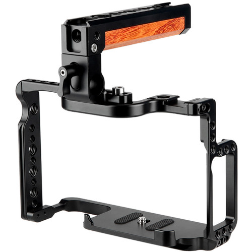 Niceyrig Camera Cage with Top Handle for Canon 5D Mark II/III/IV & 5DS