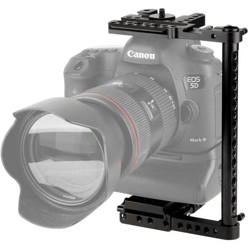 Niceyrig Universal Camera Half Cage Rig with QR Plate