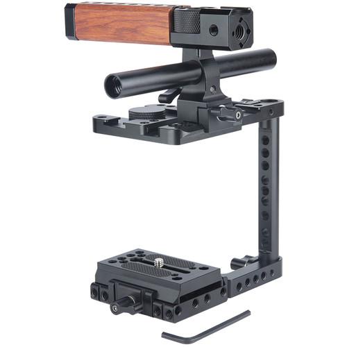 Niceyrig Half Cage with Top NATO Handle for Blackmagic Design Pocket Cinema Camera 6K/4K