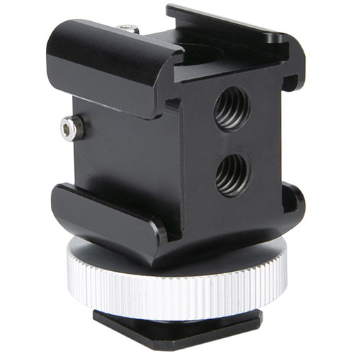 Niceyrig 3-Sided Cold Shoe Mount Adapter
