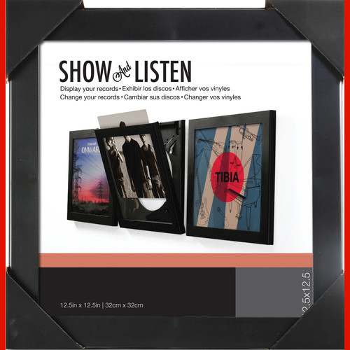Nielsen & Bainbridge Vinyl Record Show & Use Flip Frame (4-Pack)