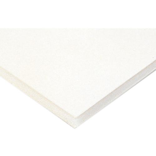 "Nielsen & Bainbridge Clay Coated Foam Core Board - 48 x 96 x 1/2"" (White)"