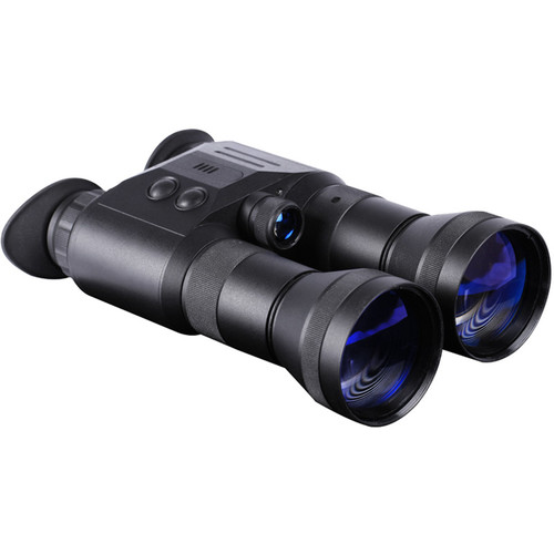 Night Optics Iris 321 3.6x 3rd Generation Night Vision Binocular (Filmless, Autogated)