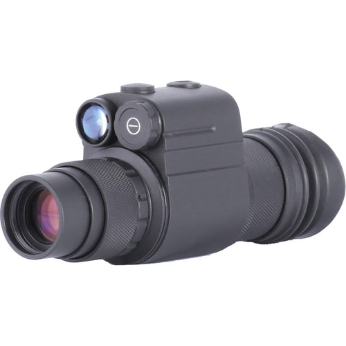 Night Optics Ambia 1x 3rd Generation White Phosphor Night Vision Monocular and Head Mount Kit (Filmless, Autogated)