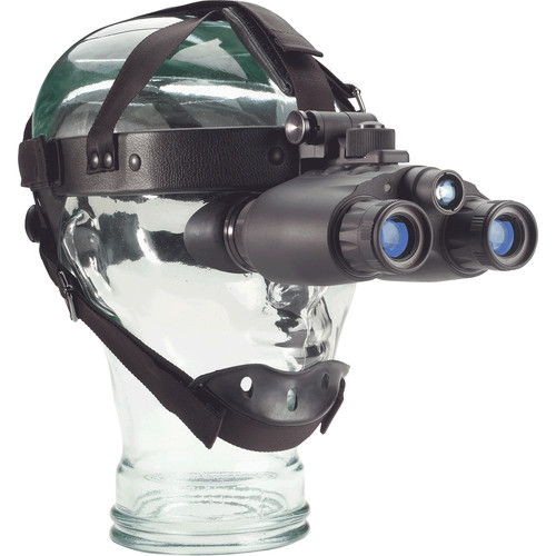 Night Optics 1x Thin Film Gated GEN 3 Iris 321 Night Vision Binocular with Head Mount