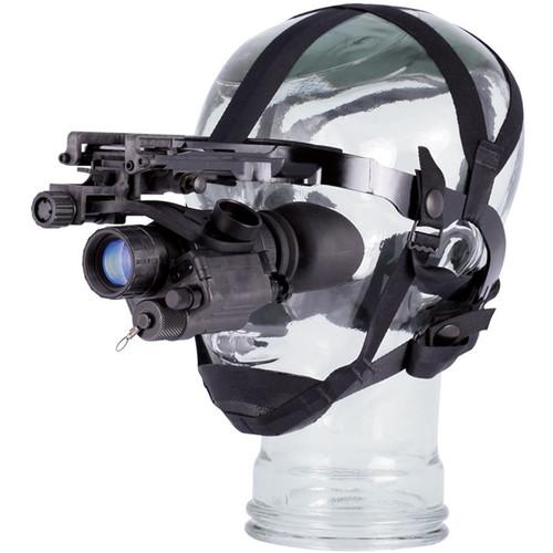 Night Optics Sentry 14 1x 3rd Generation White Phosphor Night Vision Monocular & Head Mount Kit (Filmless, Autogated)