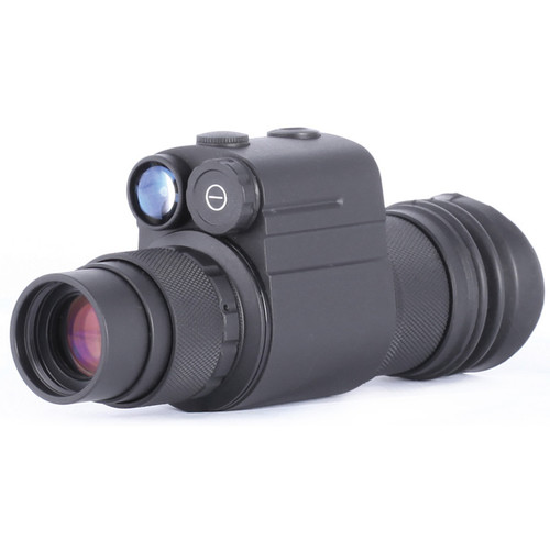 Night Optics Ambia 1x 3rd Generation White Phosphor Night Vision Monocular (Filmless, Autogated)