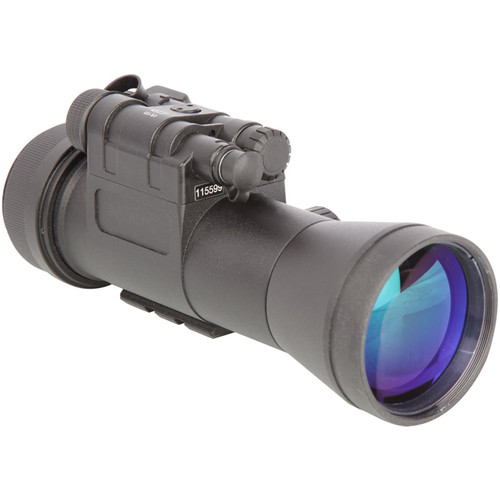 Night Optics Krystal 950 1x 3rd Generation White Phosphor Night Vision Clip-On System (Filmless, Autogated)