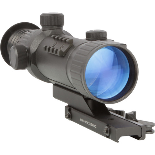 Night Optics Spartan 520 2.8x 2nd Generation Night Vision Riflescope (Illuminated Red Mil-Dot Reticle)
