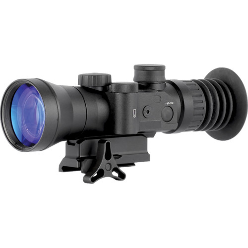 Night Optics Superlite 730 3.7x 2nd Generation White Phosphor Night Vision Riflescope (Autogated, Red-Green Mil-Dot Reticle)