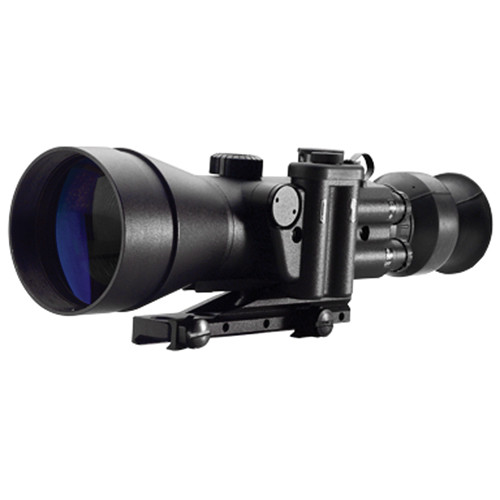 Night Optics 4x GEN 2 BW Argus 740 Night Vision Rifle Scope with Dual Reticle