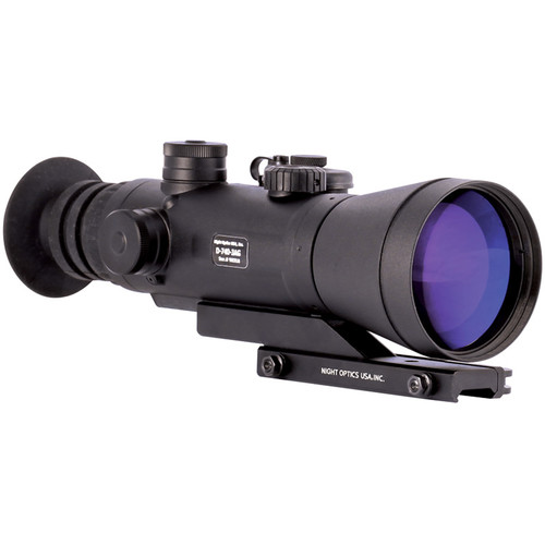 Night Optics Argus 740 4x 3rd Generation White Phosphor Night Vision Riflescope (Autogated, Red-Green Mil-Dot Reticle)