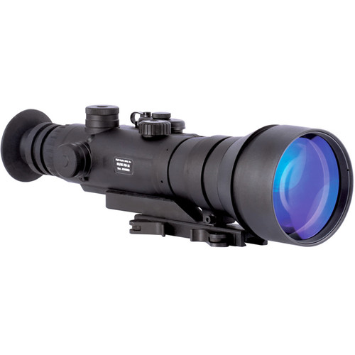 Night Optics Gladius 760 6x 2nd Generation White Phosphor Night Vision Riflescope (Red-Green Mil-Dot Reticle)