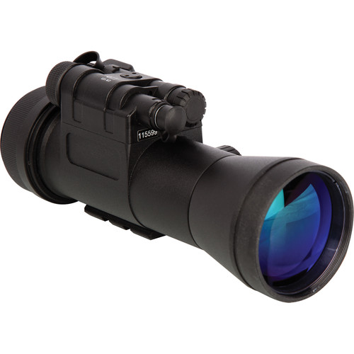 Night Optics 1x Gen 3 Krystal 950 Gated Night Vision Clip-On Sight