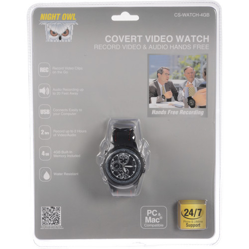 Night Owl 4 GB Covert Video Watch