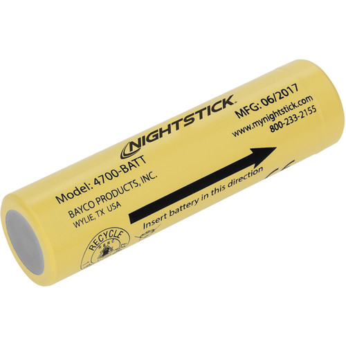 Nightstick Lithium-Ion Rechargeable Battery (3.6V, 3400mA)