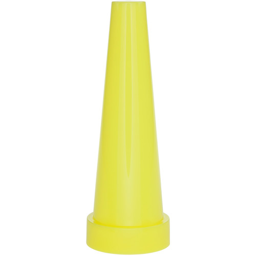 Nightstick Safety Cone for 2422/2424/5400 Series Dual-Light Flashlights (Yellow)