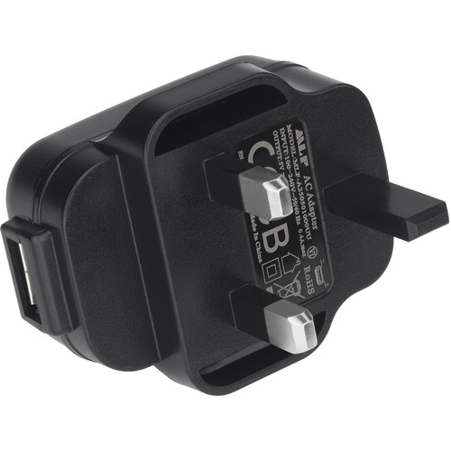 Nightstick AC Adapter with USB Type-A Port (UK)