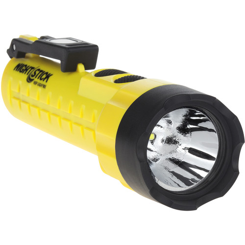 Nightstick NSP-2424YMX X-Series Dual-Light Flashlight with Dual Magnets (Yellow)