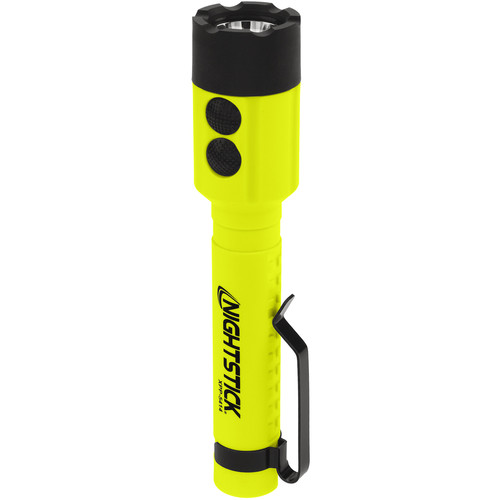 Nightstick XPP-5414GX X-Series Intrinsically Safe Dual-Light Flashlight with Tail Magnet (Green)
