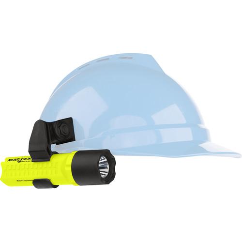 Nightstick XPP-5418GX-K01 Intrinsically Safe Helmet-Mounted Flashlight (Green)