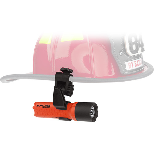 Nightstick XPP-5418RX-K01 Intrinsically Safe Helmet-Mounted Flashlight (Red)