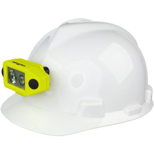 Nightstick XPP-5460GCX Intrinsically Safe Low-Profile Dual-Light Headlamp (Hard Hat Bracket)