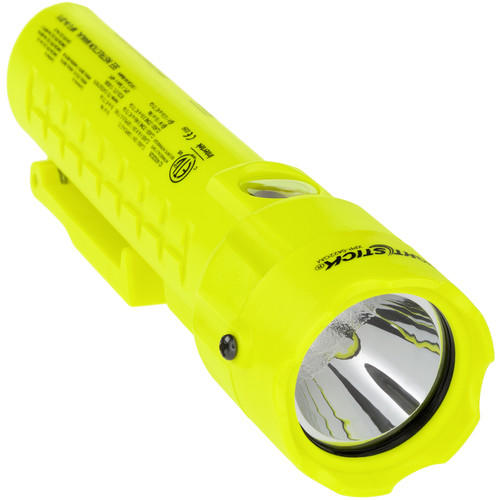 Nightstick XPP-5422GM Intrinsically Safe Permissible Dual-Light Flashlight with Clip & Tail Magnets (Green)