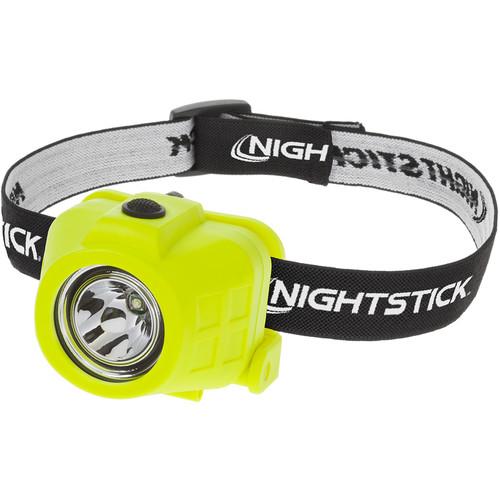 Nightstick XPP-5450G Intrinsically Safe Headlamp (90/50 Lumens, Elastic Headband)