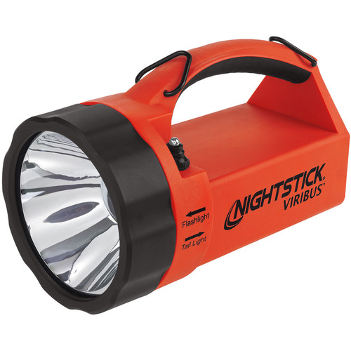 Nightstick XPR-5580 VIRIBUS Intrinsically Safe Rechargeable Dual-Light Lantern (Red)