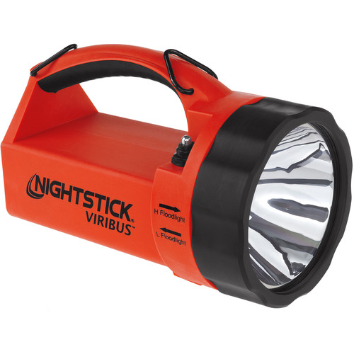 Nightstick XPR-5581RX VIRIBUS Intrinsically Safe Rechargeable Dual-Light Lantern (Red)