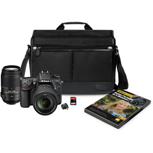 Nikon D7100 DSLR Camera with 18-140mm and 55-300mm Lenses Kit