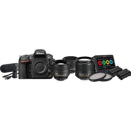 Nikon D750 DSLR Filmmaker's Kit