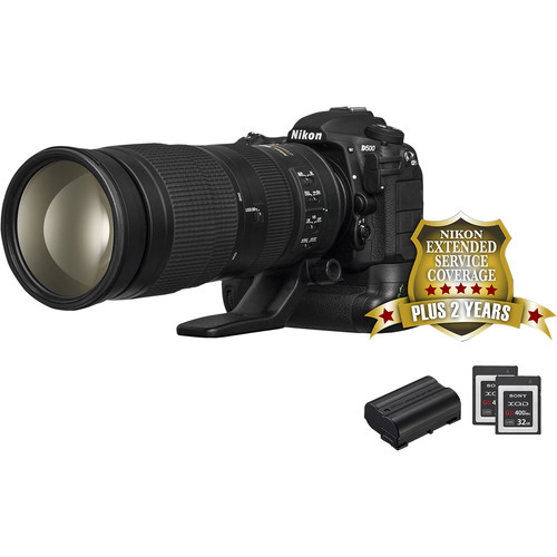 Nikon D500 DSLR Camera Sports and Wildlife Kit