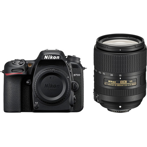 Nikon D7500 DSLR Camera with 18-300mm Lens Kit