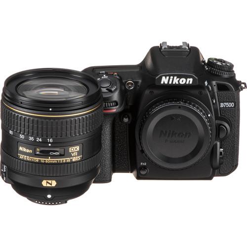 Nikon D7500 DSLR Camera with 16-80mm Lens
