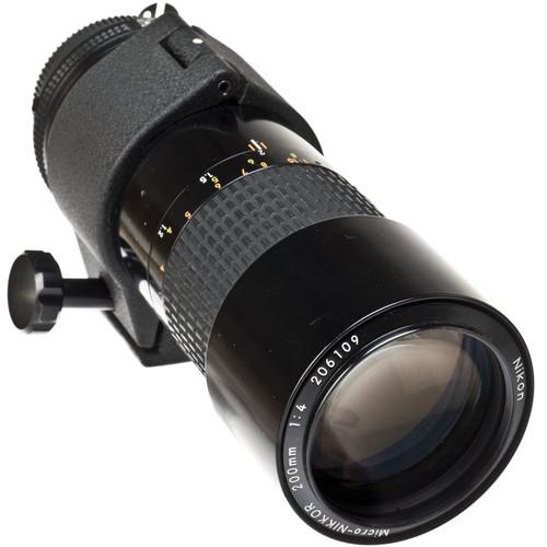 Nikon Telephoto 200mm f/4.0 Micro IF AIS Manual Focus Lens