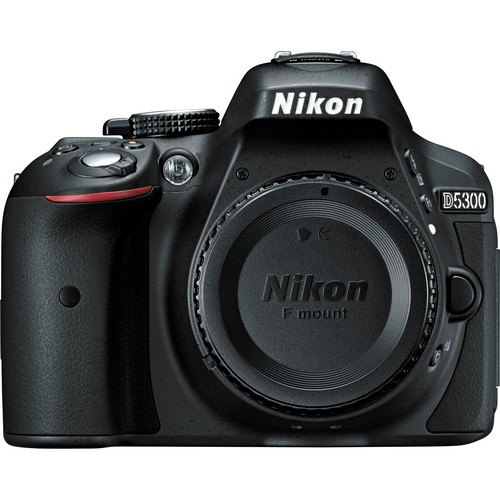 Nikon D5300 DSLR Camera (Body Only, Black)