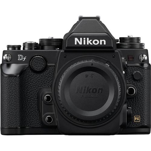 Nikon Df DSLR Camera (Body Only, Black, Refurbished)