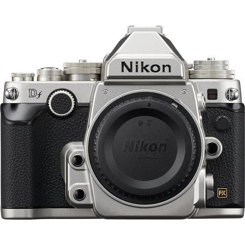 Nikon Df DSLR Camera (Body Only, Silver, Refurbished)