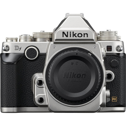 Nikon Df DSLR Camera (Body Only, Silver)